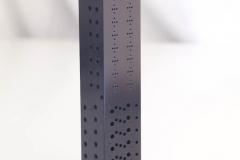 Black Anodized Aluminum Manifold