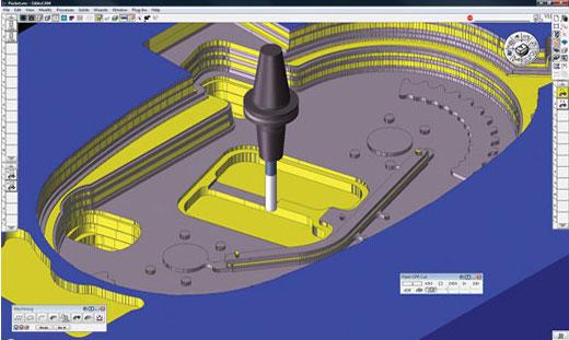 GibbsCAM software screenshot