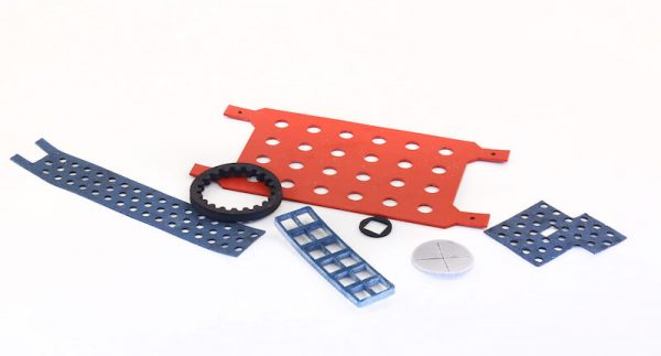 CNC machining projects laser cut rubber gaskets
